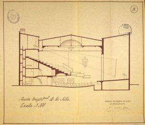 Proyecto de Teatro-Cine y viviendas